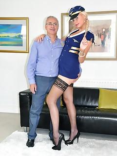 Air Hostess Porn Pics